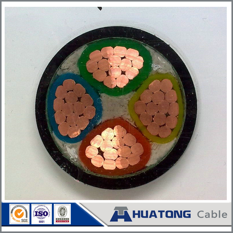 copper core cable 16mm low voltage XLPE filler 4 cores sta armored Cable