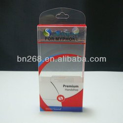 Clear phone case packaging box,case for iphone 5 packaging
