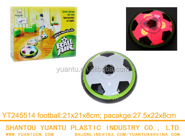 Hot selling Light up air hovers football kicker toy Sports Plastic football toy