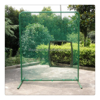 not inflatable baseball batting cage net