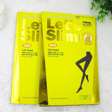 custom hanging packaging for pantyhose and silk stockings display