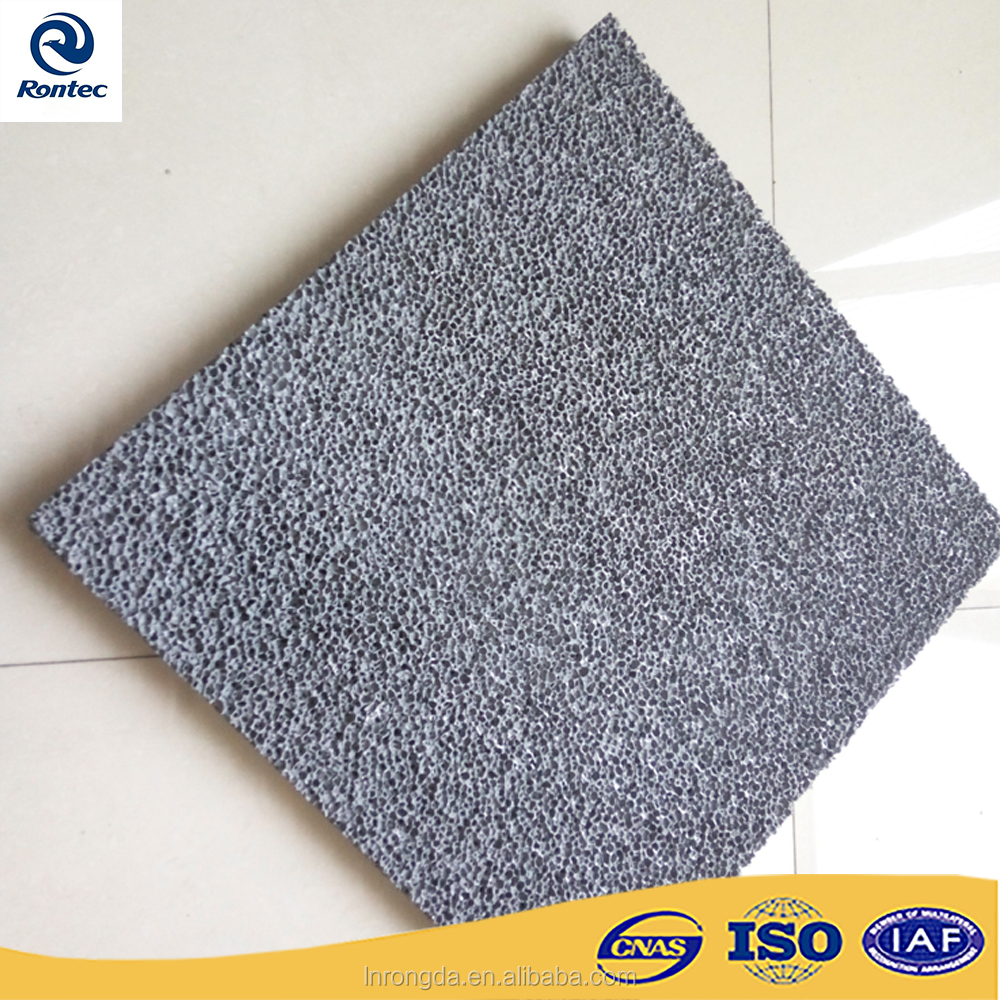 Lightweight and fireproof acoustic absorption closed-cell aluminum foam panels