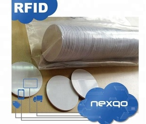 Waterproof PVC RFID Coin Tag ABS NFC Disc Token Tag