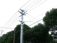electric transmission hot selling galvanized steel pole