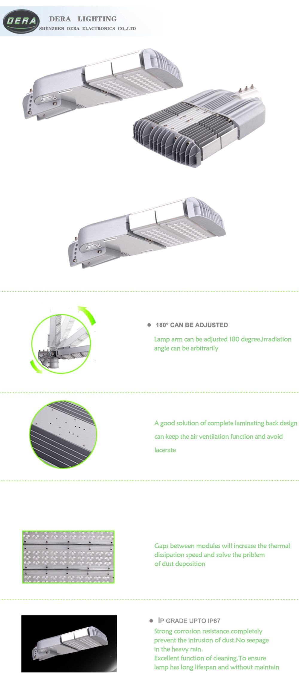 Hot sale new product solar 100w led street lights hyderabad made in China led street lighting