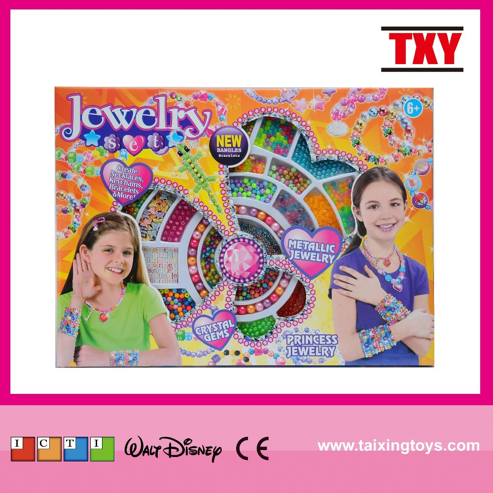 2015 Fashion DIY Beads Set New Toys For Girls Plus Size