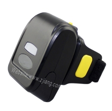 Bluetooth Barcode Reader 2D Bar Code Ring Scanner Ring QR Code Scanner