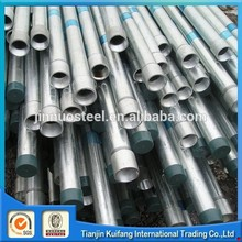 Multifunctional hot dip galvanized water line pipe with low price