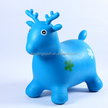 PVC inflatable jumping horse with eco-friendly,Bouncy horse hopper
