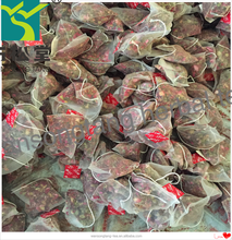 Customize rose flower tea hibiscus flower tea in pyramid tea bag