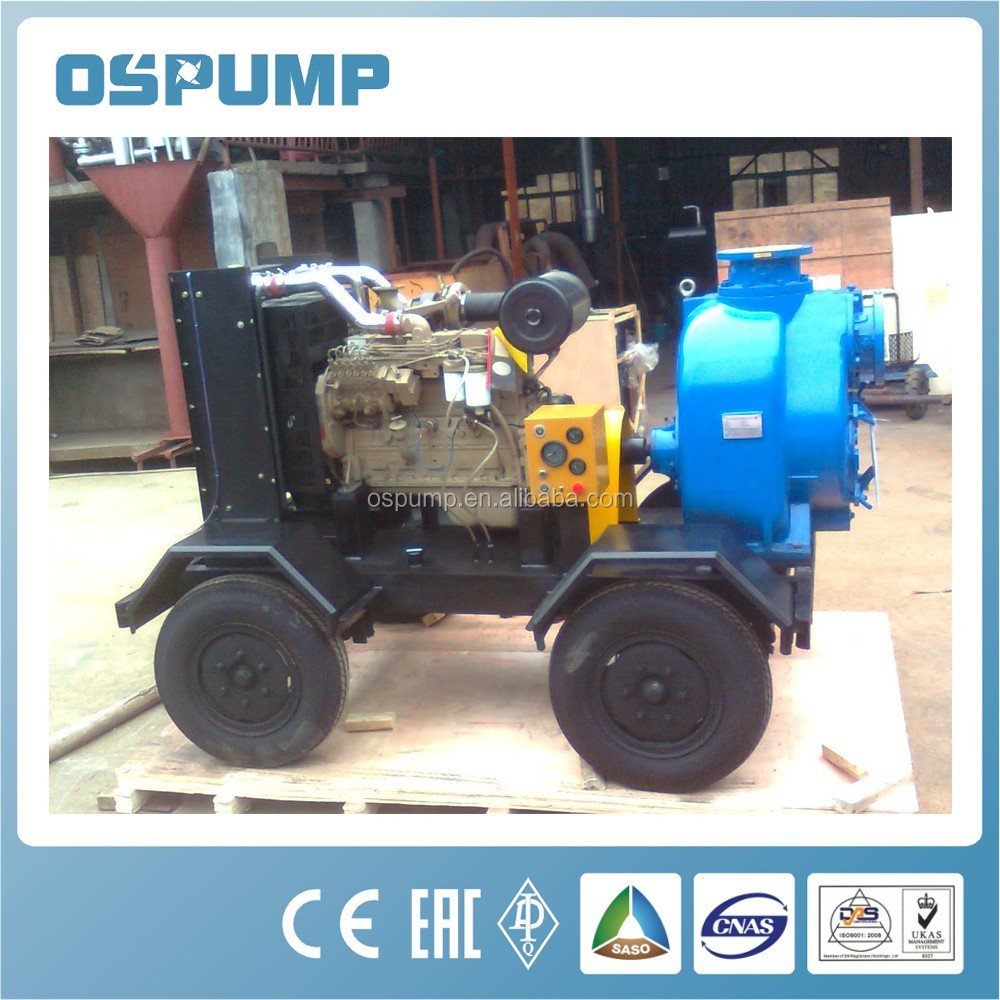 Non Sealing Self Control Self Priming Sewage Pump