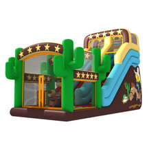 Kids castle bounce house with slide outdoor or indoor inflatable castle bouncers for sale