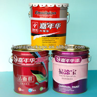 18 liter steel/metal bucket/drum/can for paint and other chemical packing