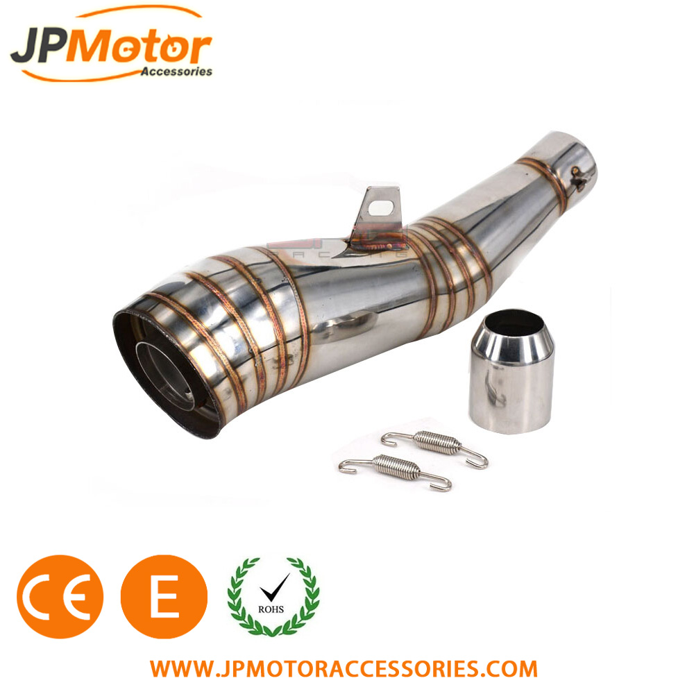 JPMotor Motorcycle Spare Parts tubos de escape para moto gp 02 stainless steel exhaust muffler