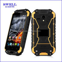 shockproof cell phones SWELL X8S Rugged MTK6582 Quad Core Smartphone with PTT button