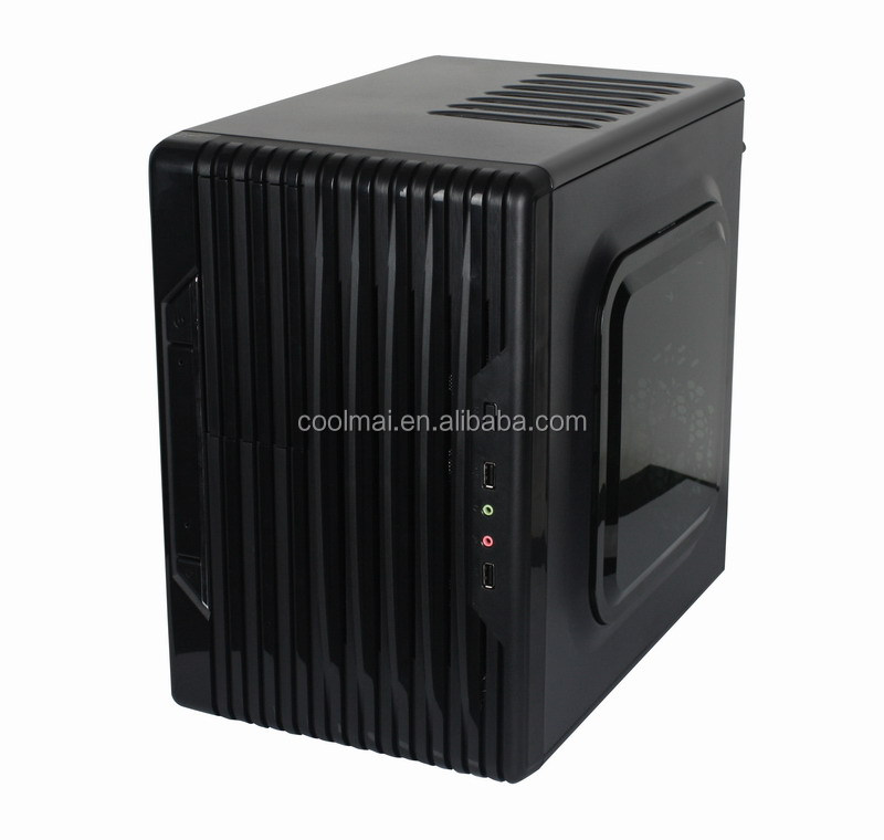 Double Assembly Area Mid-tower Casing ,Cube ATX PC casing, DVD Slot Computer Case-Special Design Pc cabinets .STX-A