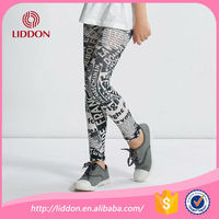 Japanese fashion girls sublimation lycra Spandex spat tights leggings