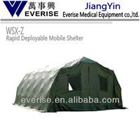 Camo Rapid Deployable Mobile Shelter; medical equipment ; ;emergency;patient;stryker;rescue;camo;army; modern medical apparatus