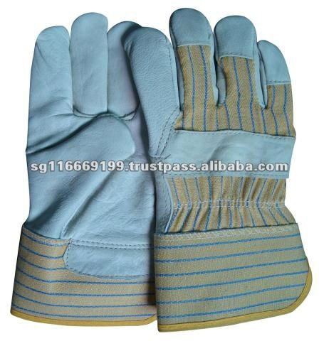 Cuff Hide Soft Leather Safety Gloves
