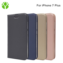 Luxury phone case Free sample filp cover, mixed color PU Leather case for Iphone 7 plus case