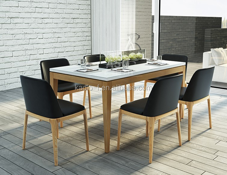 Wooden dining room dining table