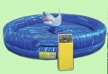 Mechanical shark fish inflatable sports equipment