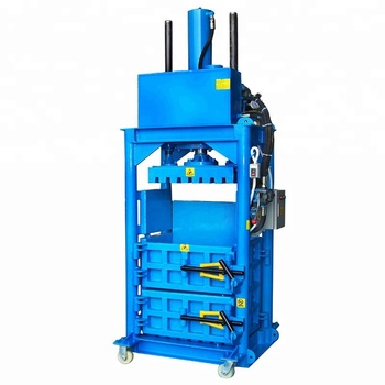Used Clothing Bundling vertical hydraulic baler Hydraulic pressing machine Waster paper baling press machine