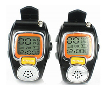 handsfree Two Way Radio with display Civilian walkie-talkie wrist watch wireless interphone
