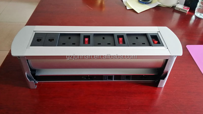 2014 beautiful design rj45 desktop socket european type