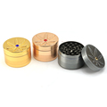 JL-404J Herb Grinder and Dispenser Tobacco Herb Spice Grinder Metal Herb Grinder 4 Piece