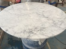 high gloss dining table white marble table top
