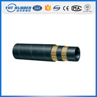 Factory price hydraulic and rubber hose assembly,clip cloth rubber hose,large diameter hose pipe