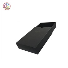 Top grade Black Paper Drawer Box
