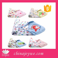 High Quality Cotton Muslin Wrap Baby Swaddle Kids Hooded Swaddle Blanket From Alibaba