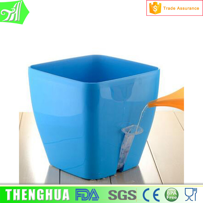 Garden supplies attractive colorful plastic flower pot flower pots