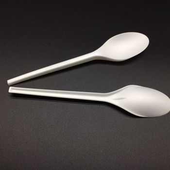 100% biodegradable Compostable PLA spoon