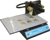 gilding foil machine Famous foil stamping printer on the flat card-ADL 3050A