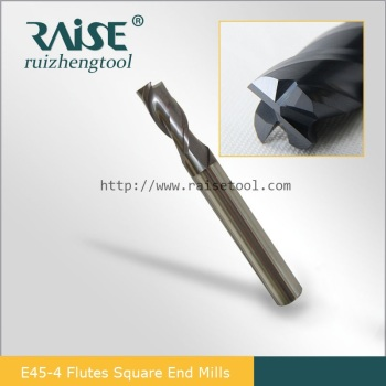 4 Flutes Solid Carbide Square End Mill