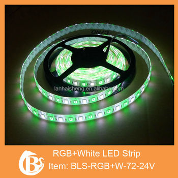 IP65 SMD5050 RGB and White LED Strip
