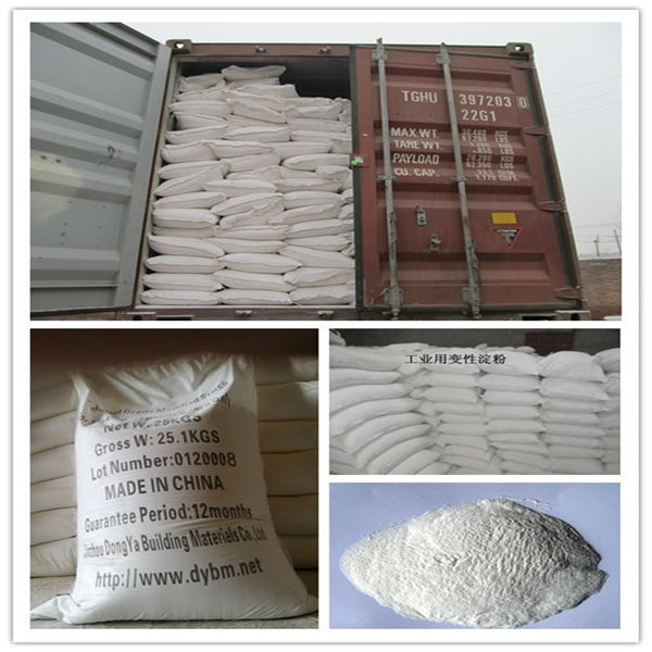 Modified Corn Starch For Corrugated Paper