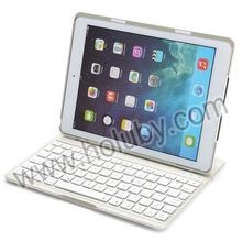 Wholesale for iPad Keyboard, Aluminum Wireless Bluetooth Keyboard Case for iPad Air