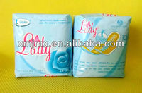 Carefree sanitary napkin-Feminine Hygiene Different Sizes - Made in China