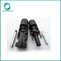 CE TUV Waterproof IP67 mc4 connection 1000v dc mc4 to sae plug cable solar socket connectors mc4 solar pv connector