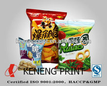 Food Packaging Material for Foodstuff and Snacks