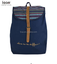 Daypack simple fashion backpack canvas