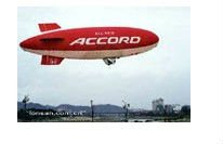 pvc inflatable advertising outdoor blimp
