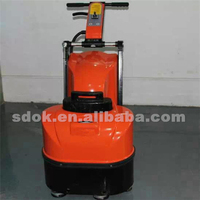 The newest brand,dust free epoxy resin floor cleaning machine,concrete epoxy floor surface grinder machine