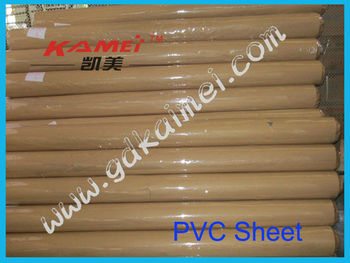 China clear pvc film for bed