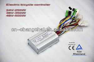 36V 250W Brushless Electric Bike Controller with CE