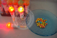 Plastic Light Bulb Candy Toy